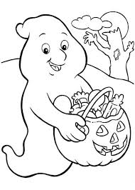 Small Picture Halloween Ghost Coloring Pages Free Printable Ghost Coloring Pages