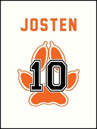 Jostens Apparel Size Chart Psu Foxes 10 Josten Art Print By Kitshunette