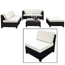 RiverCast 14Seater Aluminium Garden Furniture Set BlackAluminium Outdoor Furniture