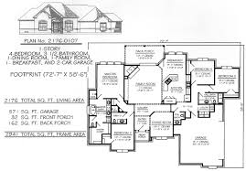 4 bedroom 3 bath house plans. Perfect House 4 Bedroom  1 Story House Plans On 3 Bath House Plans D