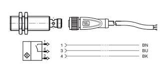 connectivity of proximity sensors 3 wire cordset
