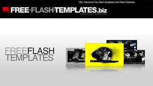 Free Flash Web Template 30 Free Flash Website Templates With Source Files Part 2