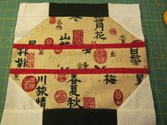 Quilt Block - cute japanese lantern pattern   quilting   Pinterest ... & Chinese Lantern Quilt   12
