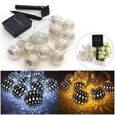 Christmas Ball String 10 LED Decoration Party Fairy LightsSolar Fairy Lights Australia