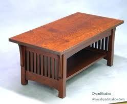 antique walnut coffee table