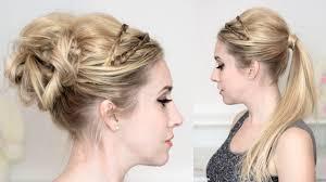 Hairstyle Medium Long Hair braided headband promweddingparty hairstyles mediumlong hair 2327 by stevesalt.us