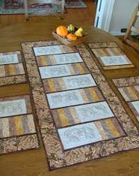 Autumn-Themed Table Set. Part II: Table Runner - Advanced ... & Part II: Table Runner - Advanced Embroidery Designs Adamdwight.com