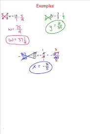 solving equations by multiplying fractions