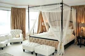decoration: Wrought Iron Canopy Beds Black Bed Frame Cottage In ...