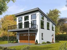 modern multi family house plans unique 062g 0081 2 car garage apartment plan with modern style