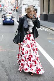 Best 25+ Floral maxi skirts ideas on Pinterest | Maxi slit skirt ...