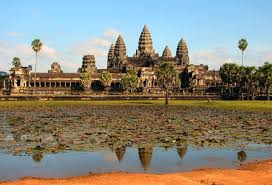 more than 200 paintings adorning the walls of the massive 12th century cambodian temple angkor wat were discovered hiding in plain sight