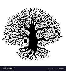 Tree Of Life Graphic Design Beautiful Vintage Hand Drawn Tree Of Life