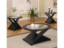 coaster occasional table sets contemporary  piece round