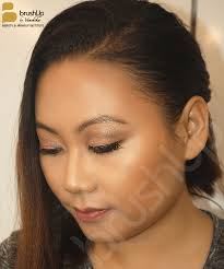 hd makeup on inakali yeptho while she was doing a professional makeup course with us