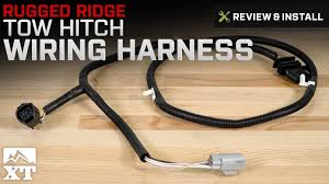 jeep wrangler rugged ridge tow hitch wiring harness 2007 2017 jk jeep wrangler rugged ridge tow hitch wiring harness 2007 2017 jk review install