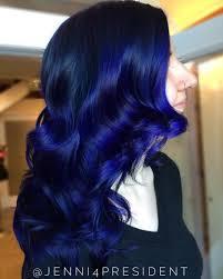 20 Dark Blue Hairstyles That Will