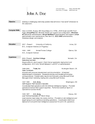 Computer Science Cover Letter Internship Puter Science Resume