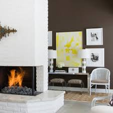 painted white brick fireplacewhite painted brick fireplaces from brick fireplace to white