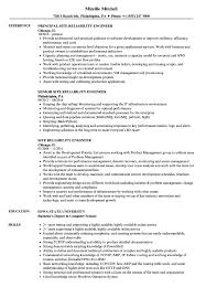 Reliability Engineer Resume Site Reliability Engineer Resume Samples Velvet Jobs 6