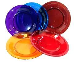 glass dishes cobalt blue dinnerware sets plastic dinner set plates clear green