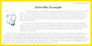 free how to write an artist bio template biography templates artist bio template free modern master sle ian bio template write artist