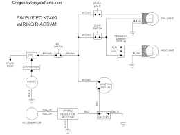 wiring diagrams kz400 and kz750 twins