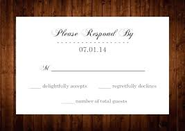Response Cards Size Rsvp Cards Size Small Standard Wedding Card Andreasleu