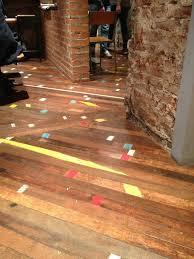 floor boards in brew lab edinburgh old gym floor