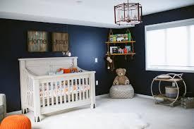 rustic modern nursery with statement chandelier project nursery