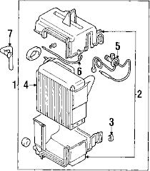 parts com® mitsubishi montero sport condenser fan oem parts 2003 mitsubishi montero sport xls v6 3 5 liter gas condenser fan