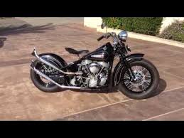 1948 harley davidson panhead bobber for sale youtube