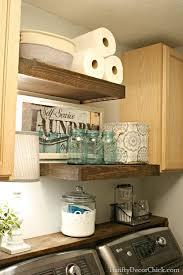 popular items laundry room decor. How To Build Floating Shelves In The Laundry Room Popular Items Decor