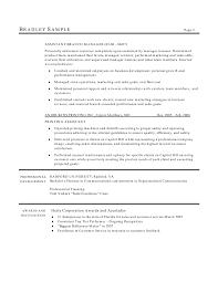 Good Resume Design Employment Officer Sample Resume