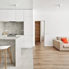 apartment designers. Raúl Sánchez Architects Updates Barcelona Flat With Grey Granite And Bright White Walls Apartment Designers