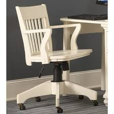 wooden swivel desk chair. Delighful Swivel White Wood Desk Chair Freedom To With Decor 19 On Wooden Swivel L