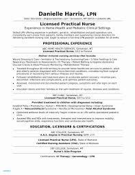 Staff Nurse Resume Format Resume Format For Experienced Staff Nurse Beautiful Sample Resume