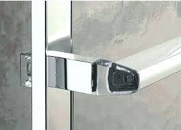 stunning towel bars for glass shower doors glass shower door towel bars replacement splendor bar install
