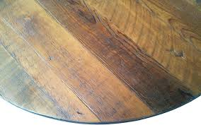 wood table tops unfinished round reclaimed for restaurants