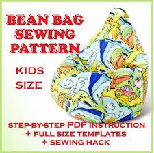 kids bean bag pattern pdf full size sewing templat craftsy