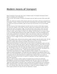small essay on means of transport essay on modern means of transport publish your article
