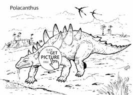 Small Picture Realistic Coloring Pages For Kids Printable Cute Dinosaur