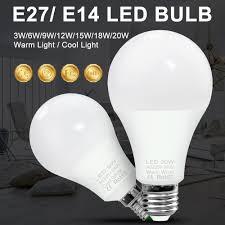 Us 1 07 9 Off Led Lamp E27 Spot Light Bulb Led E14 12w Led Bulb 220v Bombillas 3w 6w 9w 15w 18w 20w Spotlight Table Lamp 240v Lighting 2835smd In