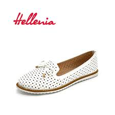 <b>Hellenia</b> Fashion Brand soft Leather <b>shoes</b> comfortable ladies ...