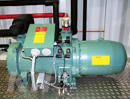water chilling plants high tech semi hermetic screw compressors made by bitzer