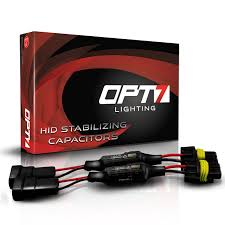 opt7 hid anti flicker capacitors warning light canceler error eliminator pair