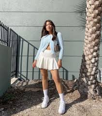 Womens tennis skirts & dresses(12). How To Style Tennis Skirts For Fall In The Most Trendy Ways Byabbie