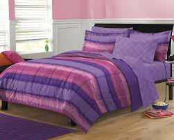 image of teen boys striped bedspread