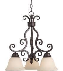 maxim 12203fioi manor 3 light 19 inch oil rubbed bronze mini chandelier ceiling light