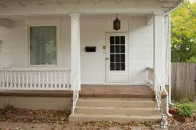 single glass front doors. Adorable Home Exterior Decoration Ideas Using Stamped Concrete Front Porch : Astonishing Single Glass Doors